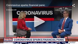 Coronavirus sparks financial panic